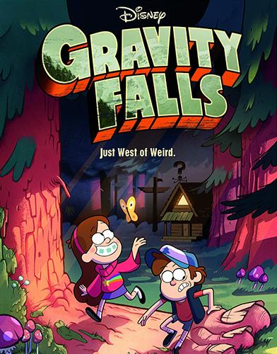 Gravity Falls season 1 Poster