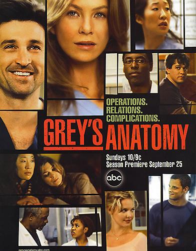 Grey's Anatomy season 2 Poster