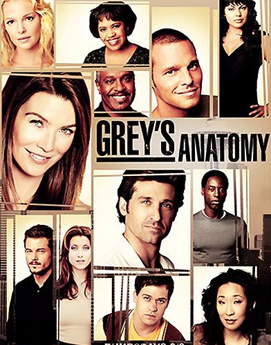 Grey's Anatomy season 3 Poster