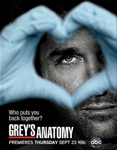 Grey's Anatomy season 7 Poster