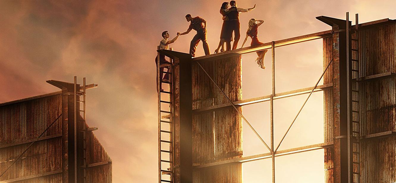 Hollywood Season 1 tv series Poster