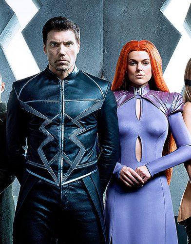Inhumans tv series poster