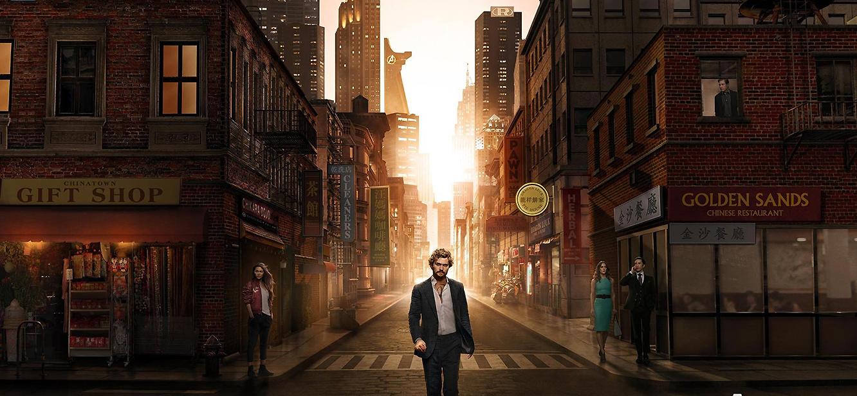 Iron Fist  Season 1 tv series Poster