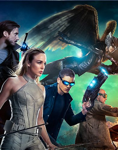 Legends of Tomorrow tv series poster