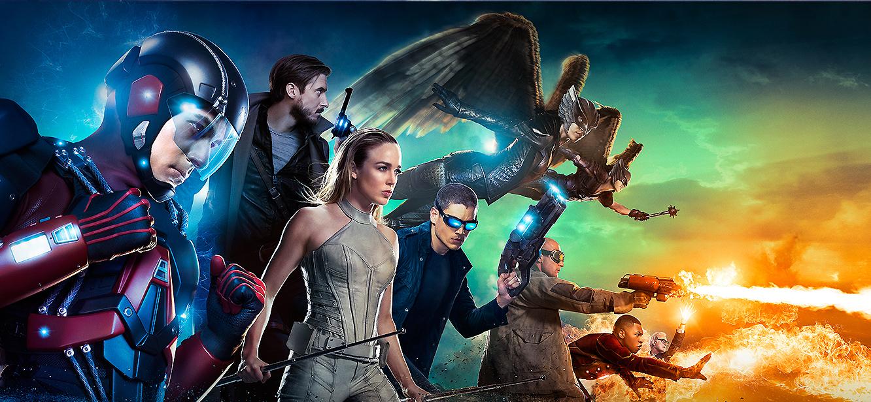 Legends of Tomorrow Season 1 tv series Poster
