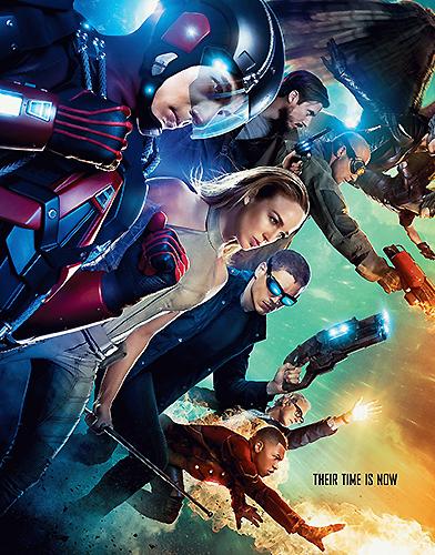 Legends of Tomorrow Season 1 poster