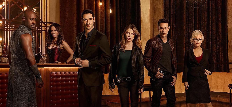 Lucifer season 1 tv series Poster
