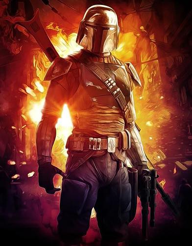 The Mandalorian Season 1 poster