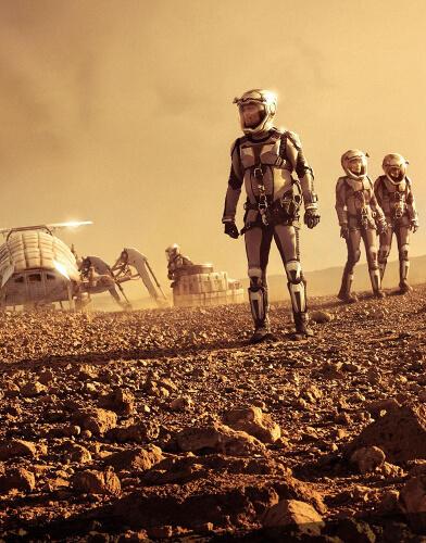 Mars season 1 poster