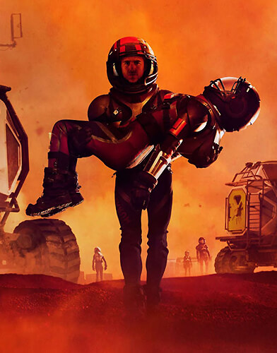 Mars season 2 poster
