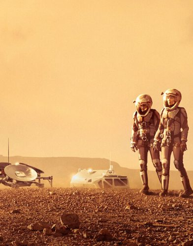Mars tv series poster