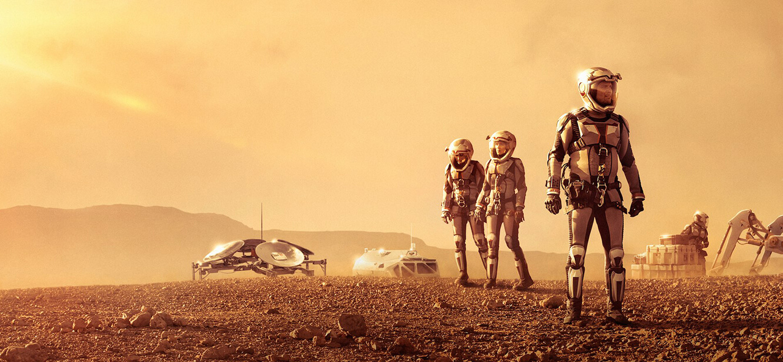 Mars Season 1 tv series Poster