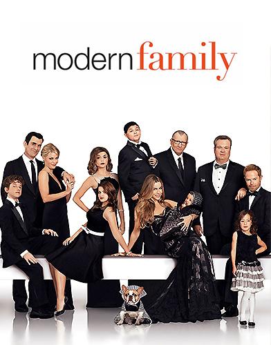 Modern Family season 5 Poster