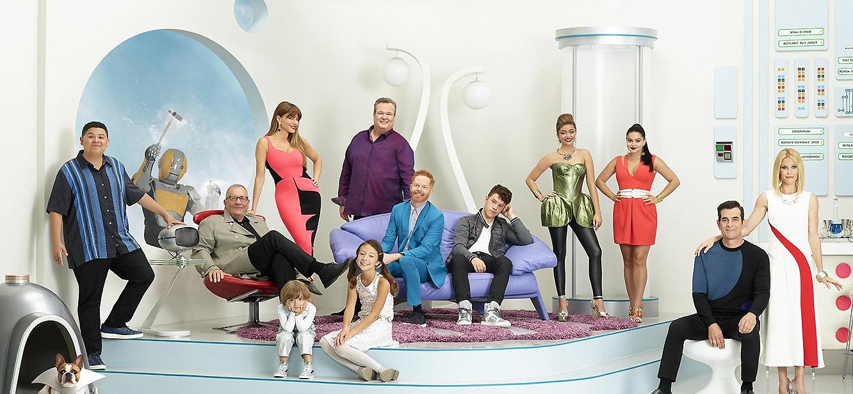 Modern Family Season 1 tv series Poster