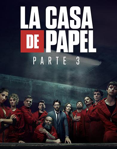 La Casa de Papel (Money Heist) Season 3 poster