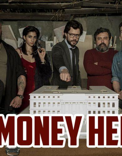 La casa de papel tv series poster