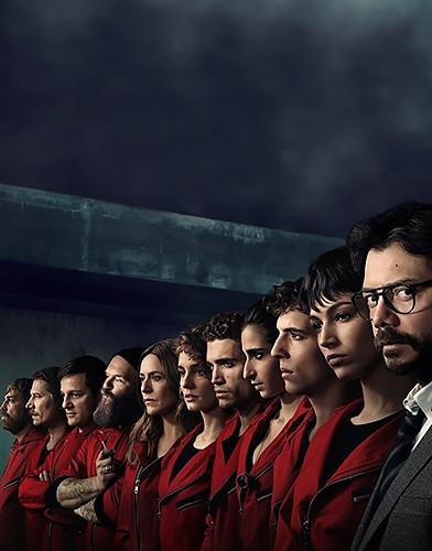 La casa de papel (Money Heist) Season 4 poster