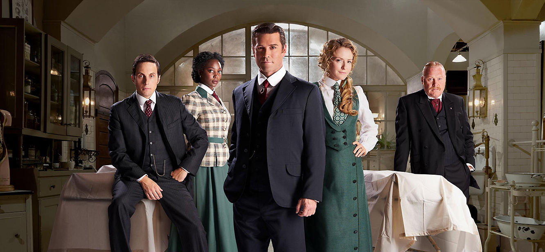Murdoch Mysteries tv series poster