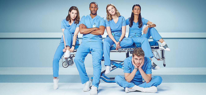 Nurses Season 1 tv series Poster