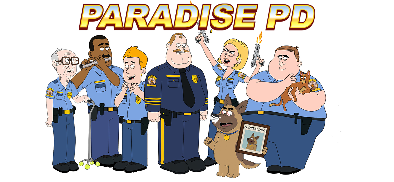 Paradise PD series poster