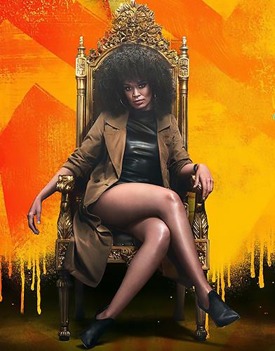 Queen Sono Season 1 poster