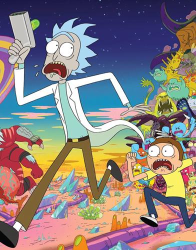 Rick and Morty Season 2 poster