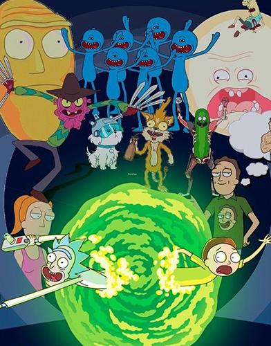 Rick and Morty Season 4 poster