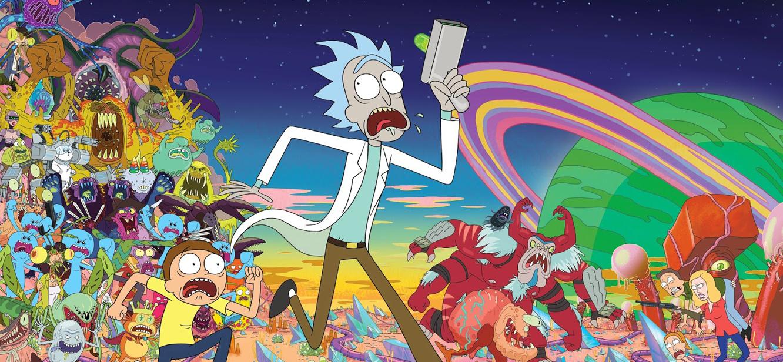 Rick and Morty Season 1 tv series Poster