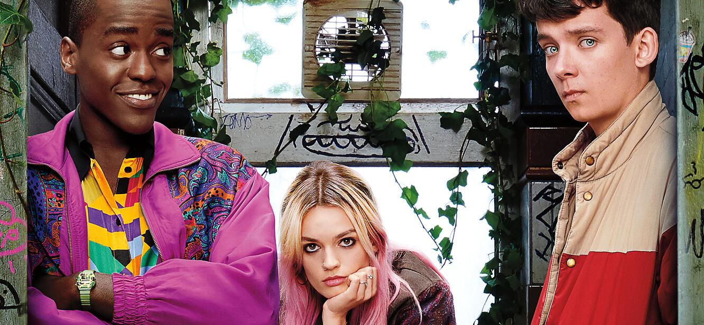 Sex Education Season 1 tv series Poster