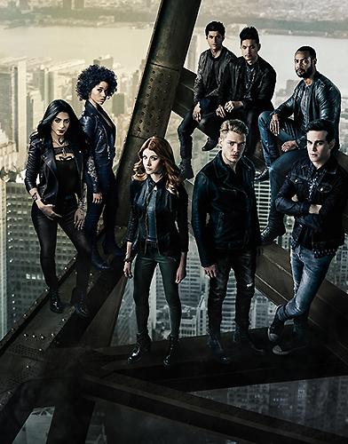 Shadowhunters: The Mortal Instruments Season 2 poster
