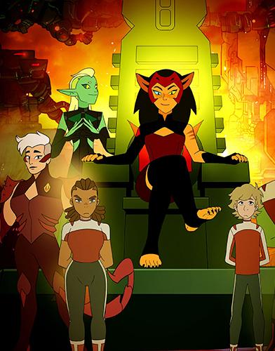She-Ra and the Princesses of Power Season 4 poster