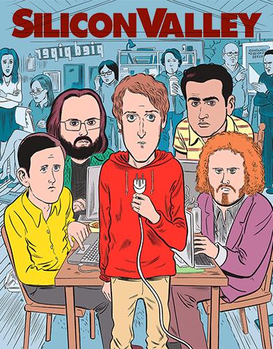 Silicon Valley season 4 Poster