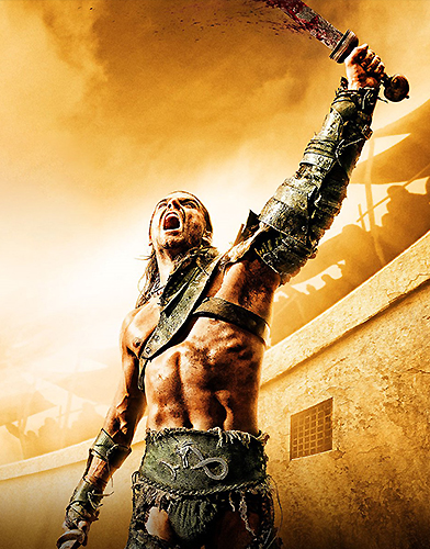 Spartacus Gods of the Arena season 1 Poster