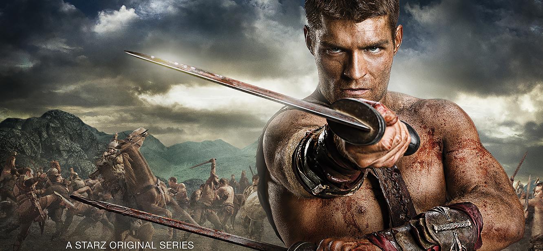 Spartacus tv series Poster
