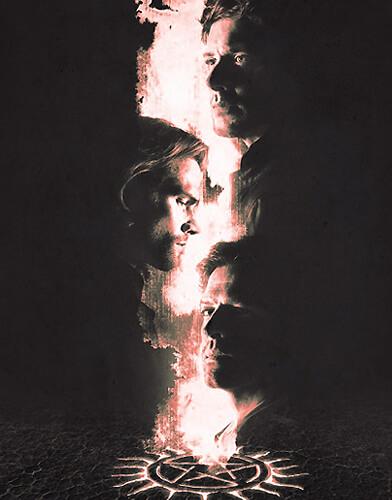Supernatural season 14 poster