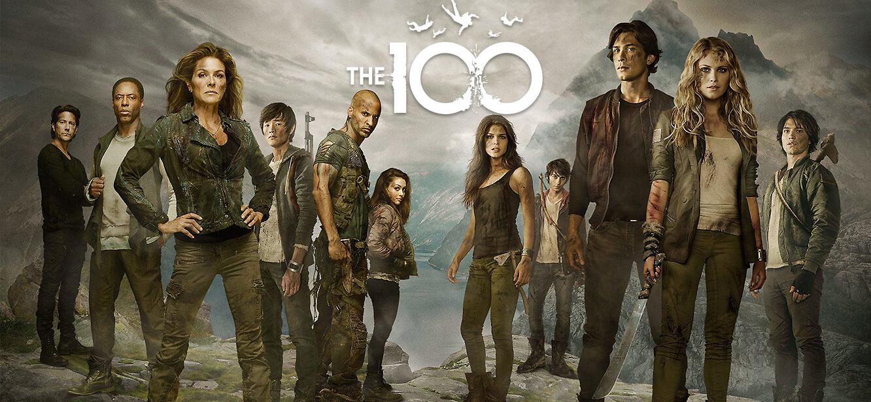 The 100 Season 1 tv series Poster