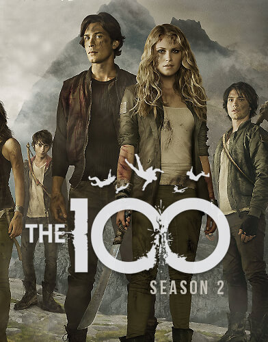 The 100 Season 2 poster