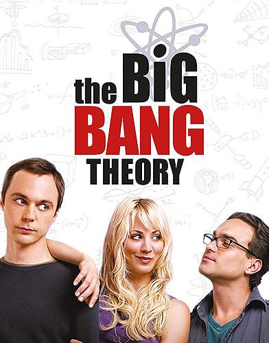 The Big Bang Theory season 1 poster