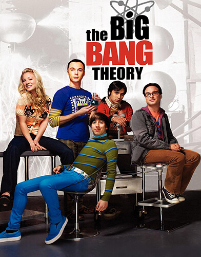 The Big Bang Theory season 3 poster