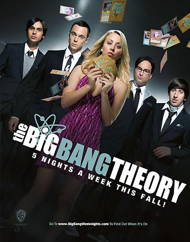 The Big Bang Theory season 5 Poster