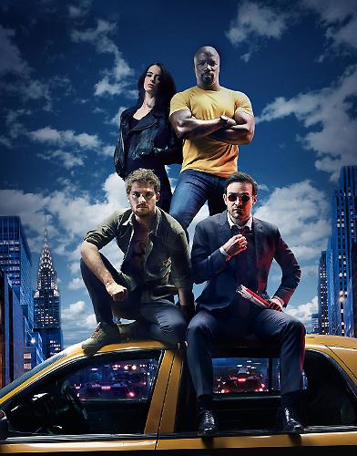 The Defenders Season 1 poster