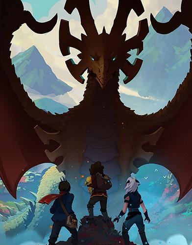 The Dragon Prince Season 1 poster