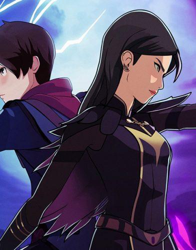 The Dragon Prince tv series poster