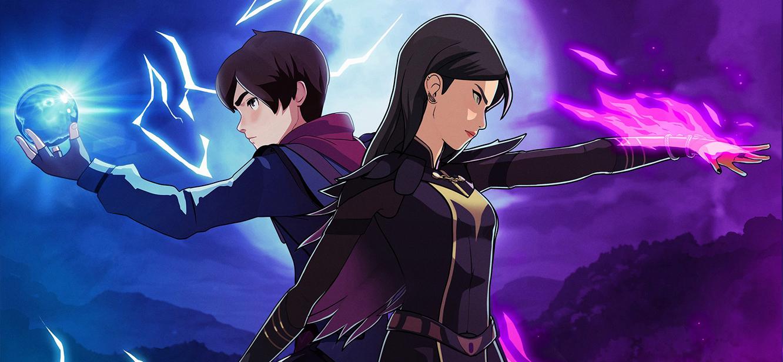 The Dragon Prince Season 1 tv series Poster