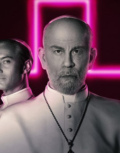 The New Pope tv series poster