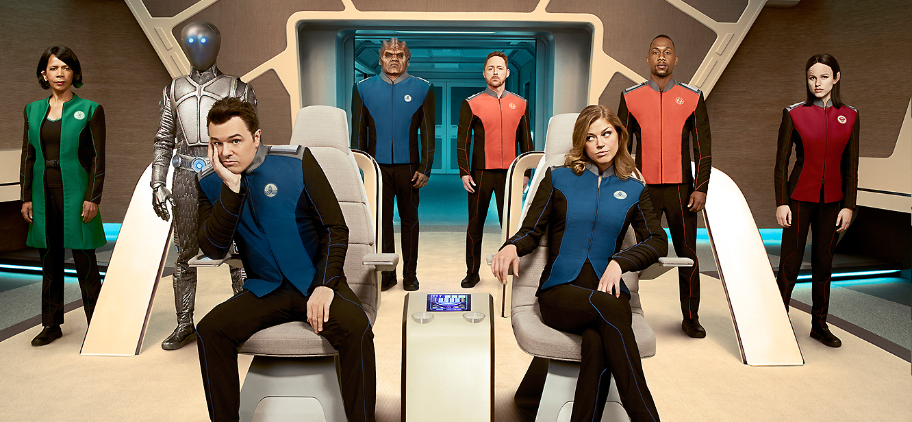 The Orville tv series Poster