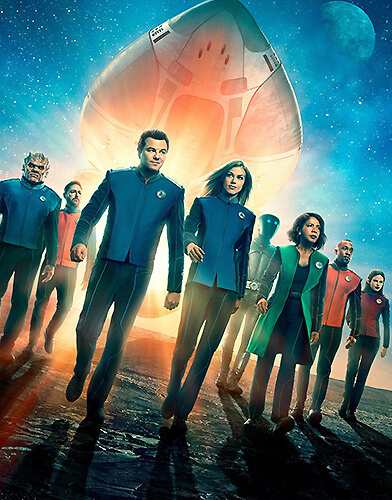 The Orville Season 2 poster