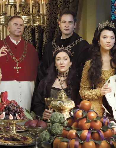 The Tudors tv series poster