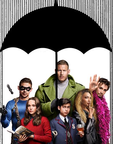 The Umbrella Academy season 1 poster