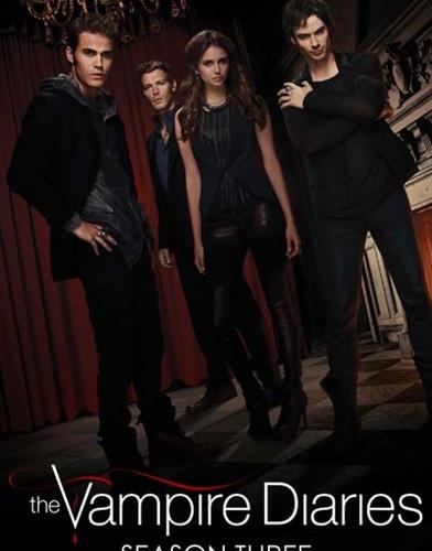 The Vampire Diaries season 3 posterThe Vampire Diaries season 3 poster